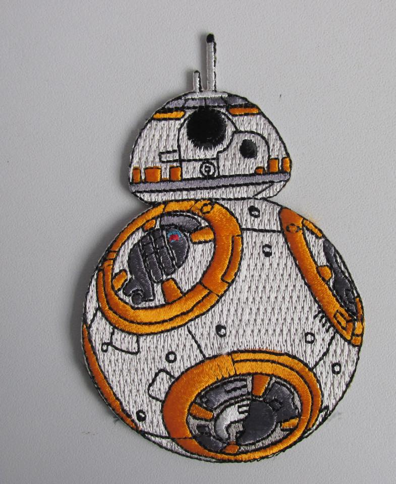 """Image of BB-8 The Force Awakens 3.5"""" Patch"""