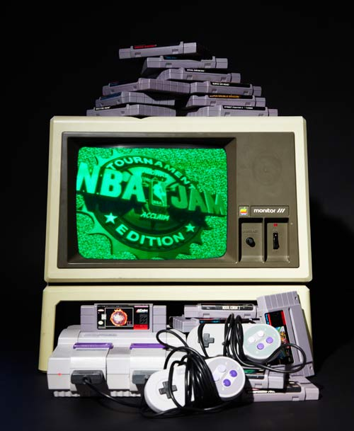 Image of Apple III + SNES