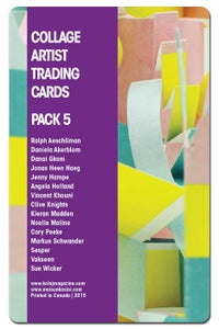 Image of Collage Artist Trading Cards, Pack Five