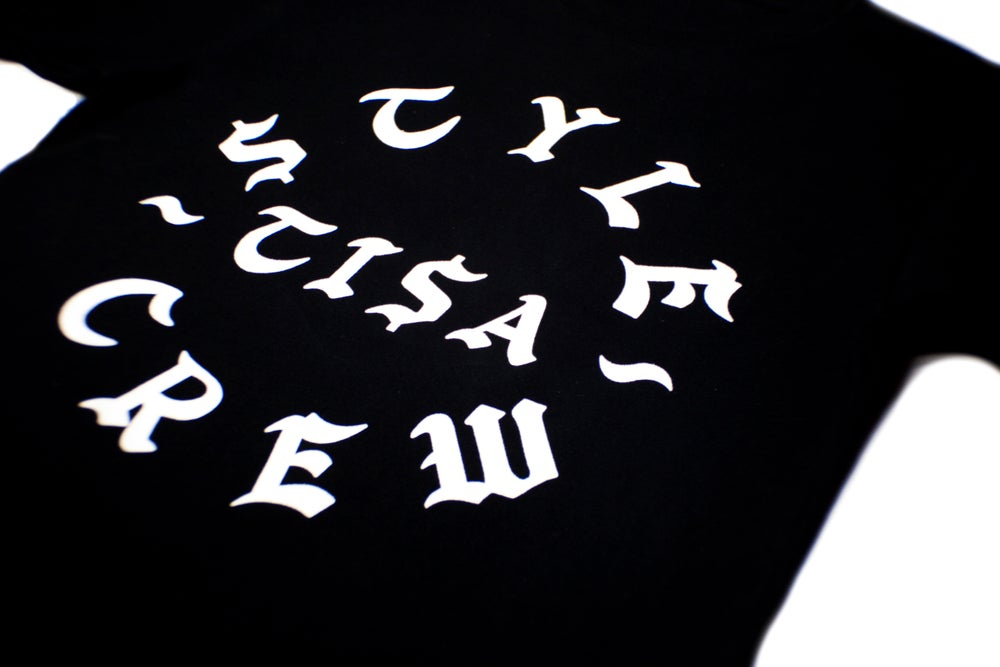 Image of TI$A STYLE CREW T-SHIRT BLACK