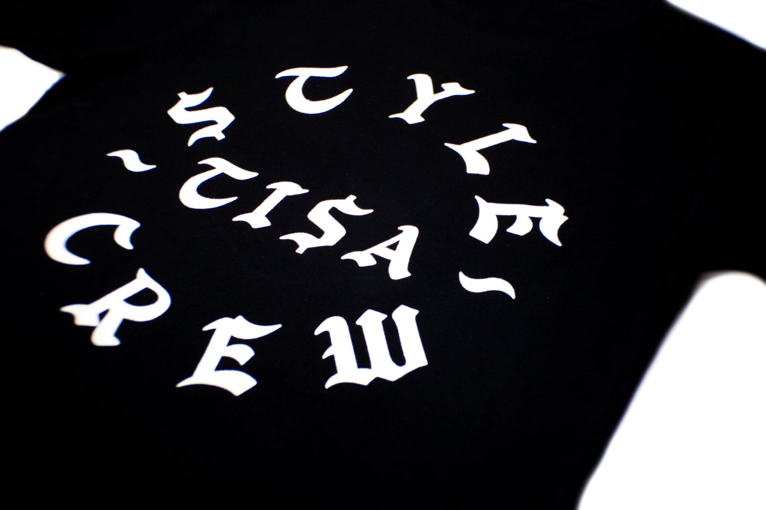 Image of TI$A STYLE CREW LS T-SHIRT BLACK