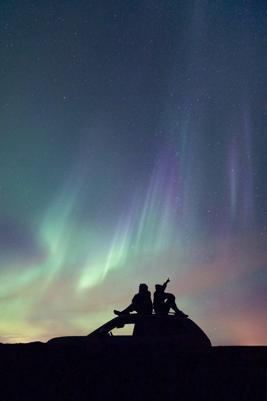 Image of Iceland Series | Beneath the Aurora