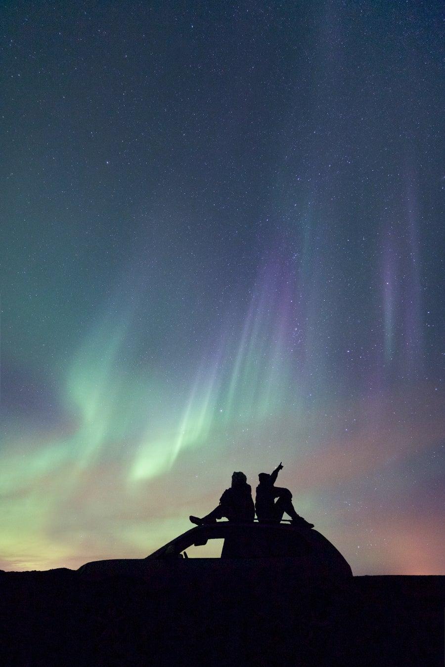 Image of Iceland Series   Beneath the Aurora