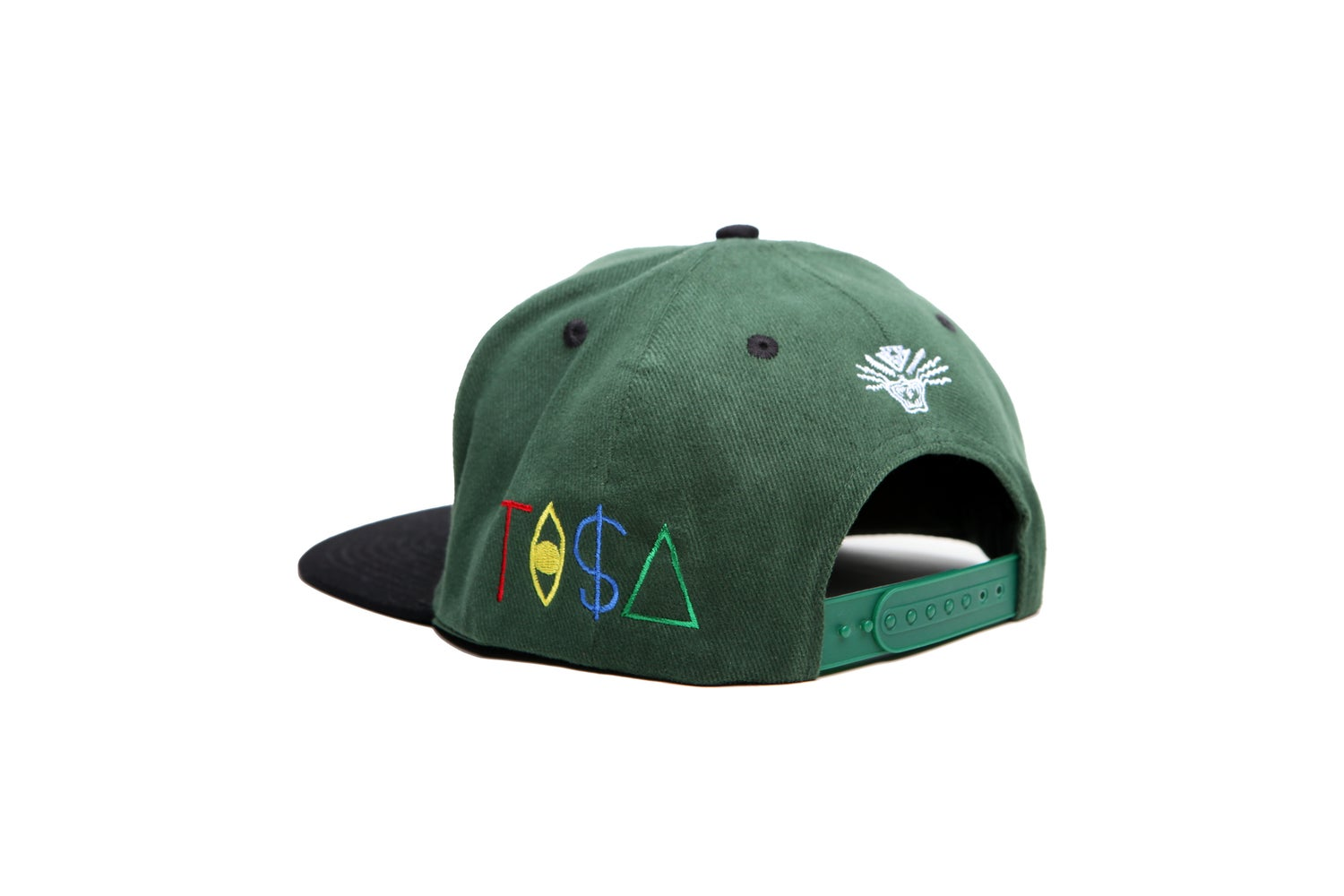 Image of TI$A JETS CAP GREEN/BLACK