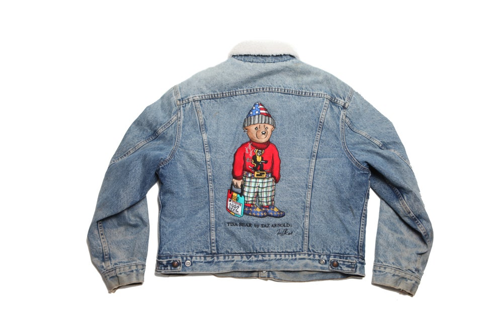 Image of TI$A SKI BEAR VINTAGE LEVIS JACKET