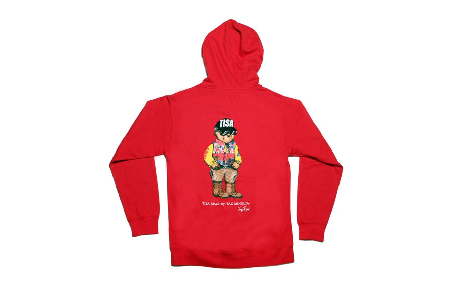 Image of TI$A SNOWBEACH BEAR HOODY