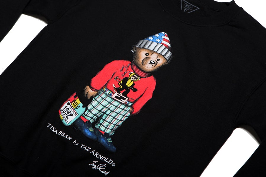 Image of TI$A SKI BEAR SWEATSHIRT
