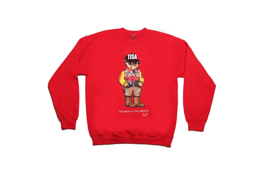Image of TI$A SNOWBEACH BEAR SWEATSHIRT