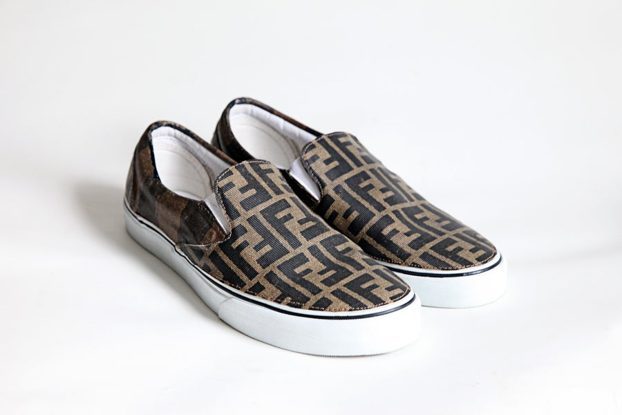Image of TI$A FENDI VANS SLIP-ON
