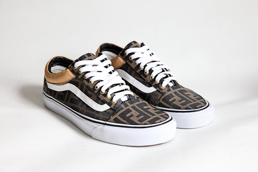 Image of TI$A FENDI VANS OLD SKOOL