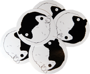 Image of SK8RATS Ying Yang Sticker Pack