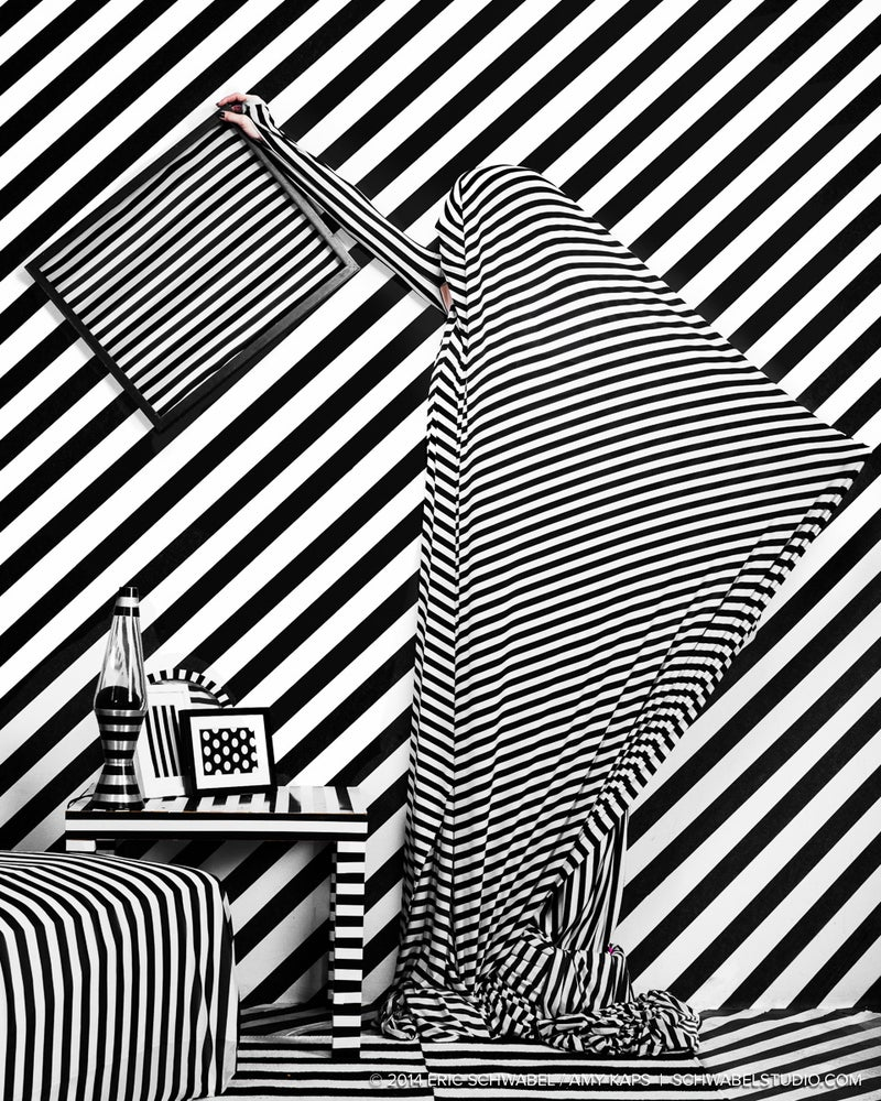 Image of A Striped World Portrait