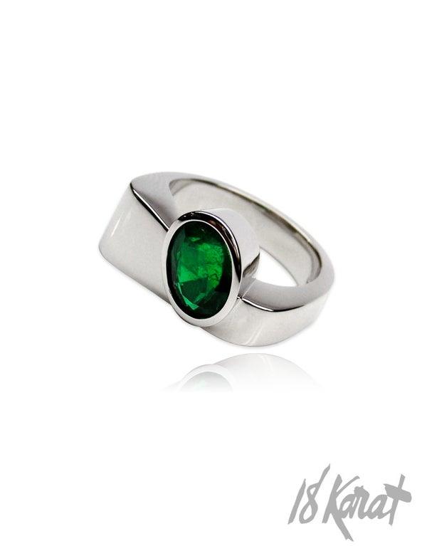 Loraine's Emerald Ring - 18Karat Studio+Gallery