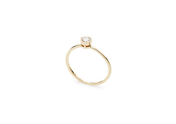 Image of ROUND DIAMOND RING