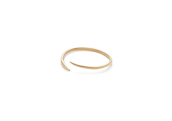 Image of OPEN CIRCLE RING : 14K GOLD