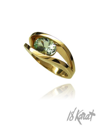 Eileen's Beryl Ring - 18Karat Studio+Gallery