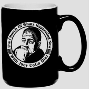 Image of Church Mug - Black