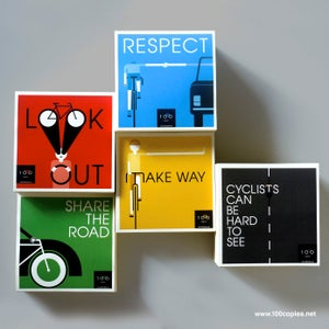 Image of Safe Cycling Sticker Set