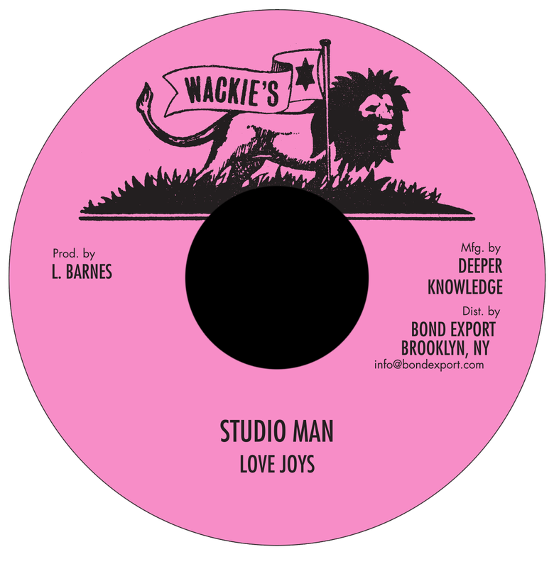 "Image of Love Joys - Studio Man 7"" (Wackie's)"