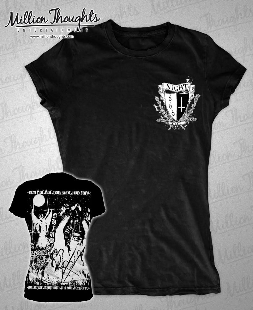 Image of Night - Coat of Arms Girly Shirt