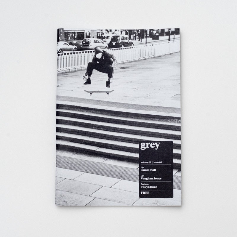 Image of grey skate mag volume 02 issue 08