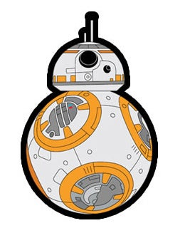 "Image of BB-8  3.5"" vinyl sticker INSTOCK"