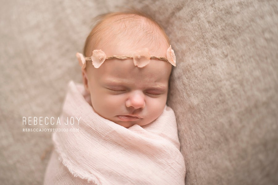 Image of {Sweet Honey} flower chain headband