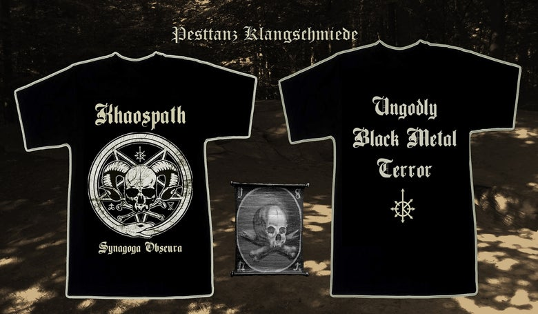 Image of Khaospath - Synagoga Obscura T-Shirt