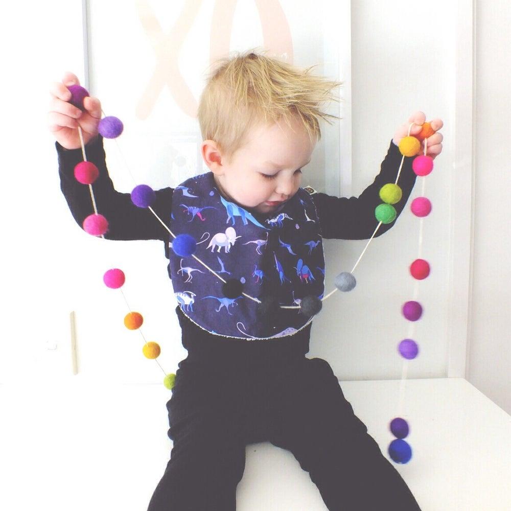 Image of FEEDER BIBS - BOY BUNCH