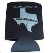 Image of Beatles / Stones Koozie - Black