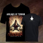 Image of TERROR FROM THE AIR t-shirt