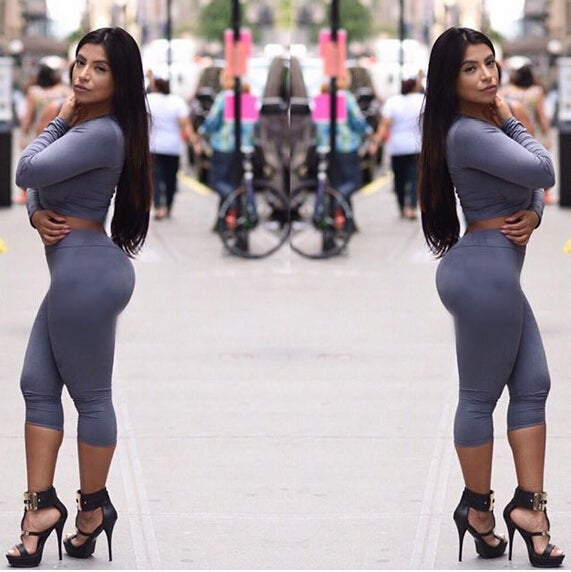 Image of hot two piece jumpsuit