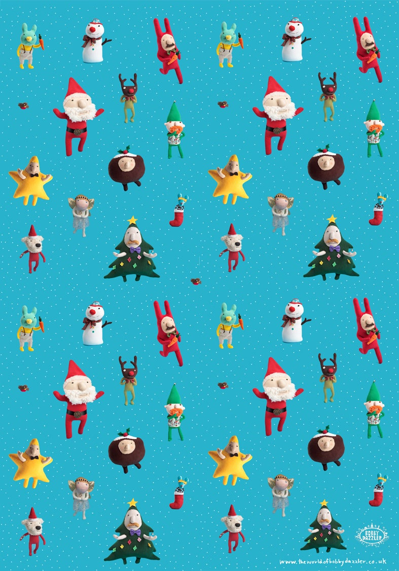 Image of Christmas Wrap (5 sheets)