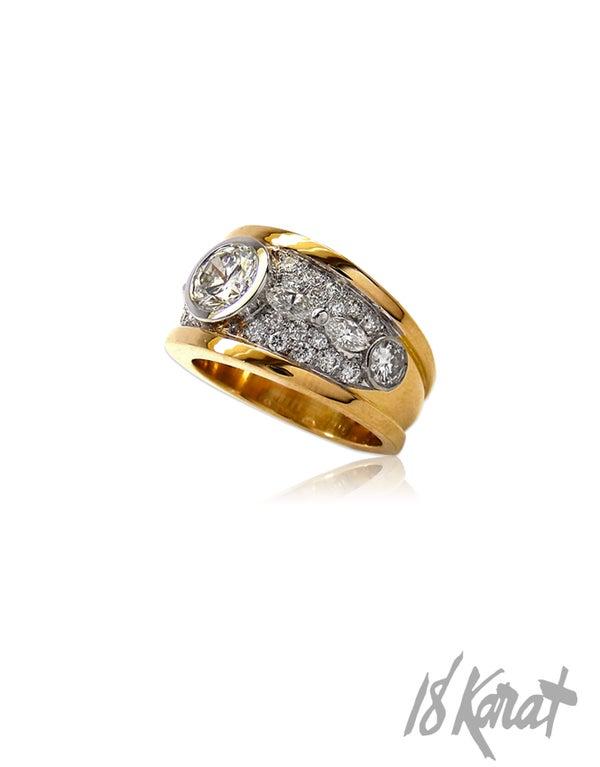 Arleen's Diamond Ring - 18Karat Studio+Gallery
