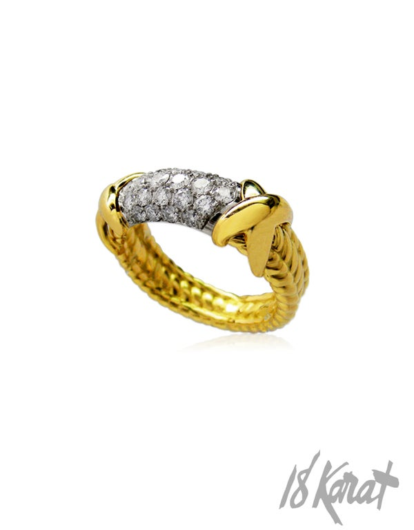 Reaghan's Diamond Ring - 18Karat Studio+Gallery