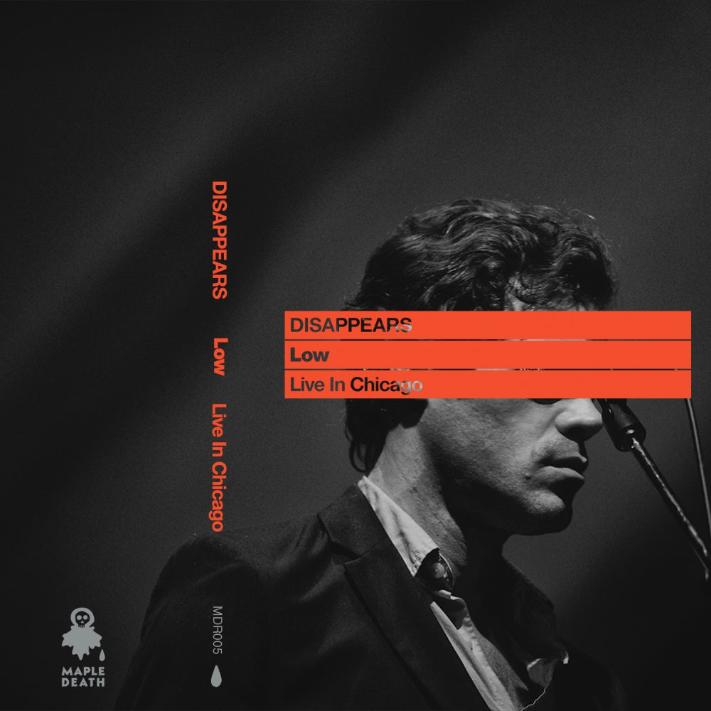 Image of Disappears - Low: Live In Chicago C60 tape (MDR005)