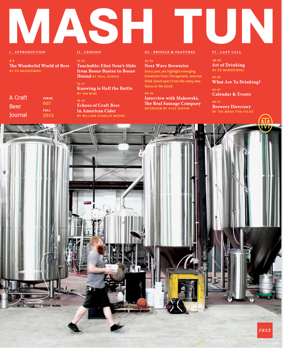 Image of Mash Tun Journal #7