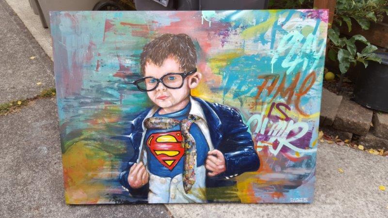 """Image of """"SuperBoy"""""""