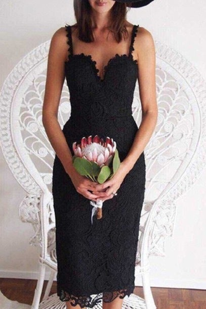 Image of HOT LACE SHOW BODY STRAPS DRESS HIGH QUALITY