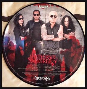 "Image of TOTAL DEATH ""Inmerso en Sangre"" Picture LP"