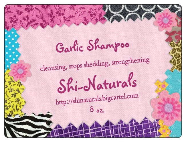 Image of Garlic Shampoo