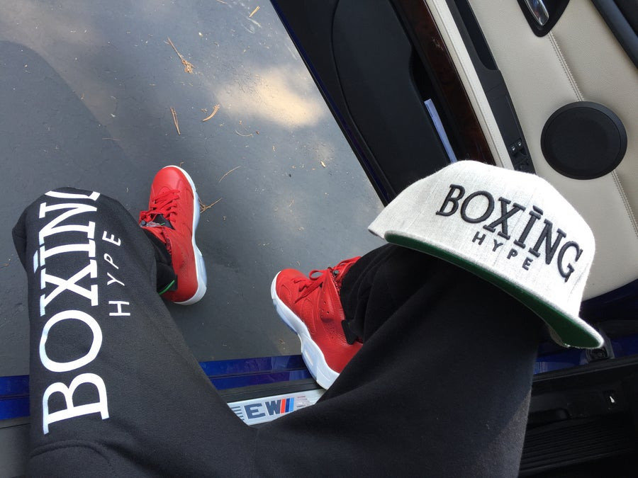Image of MENS BoxingHype SWEAT PANTS (2 colors available)