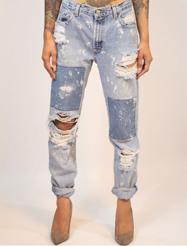 Image of Patch Jeans