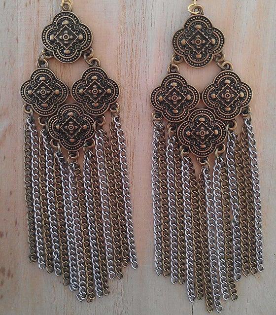 Image of Gypsy Fringe Earrings