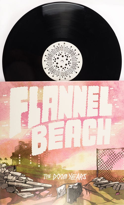 "Image of Flannel Beach 12"" LP"