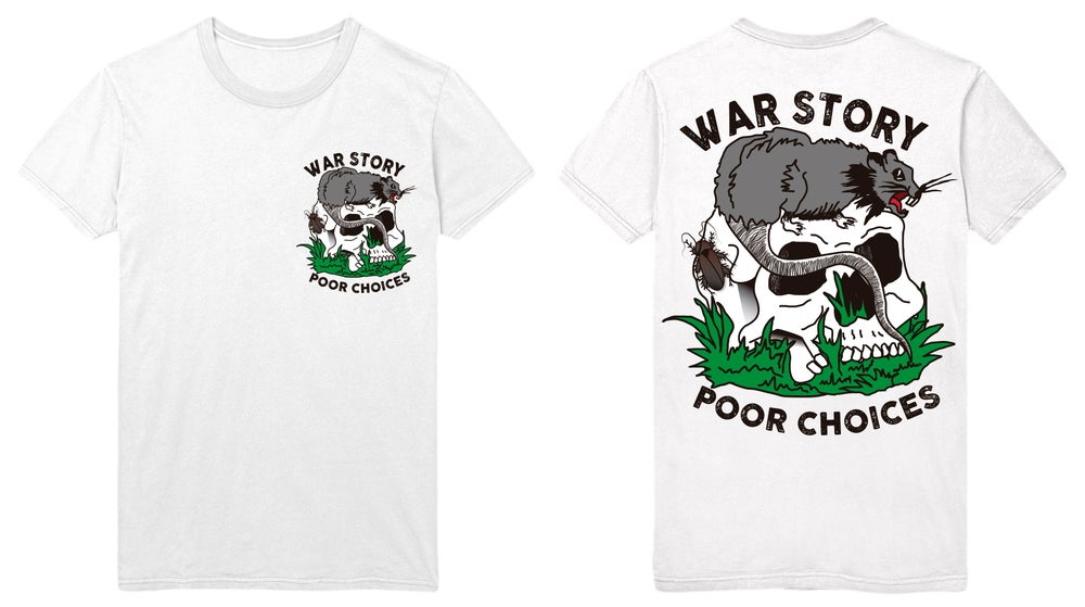 """Image of 'POOR CHOICES"""" TEE"""
