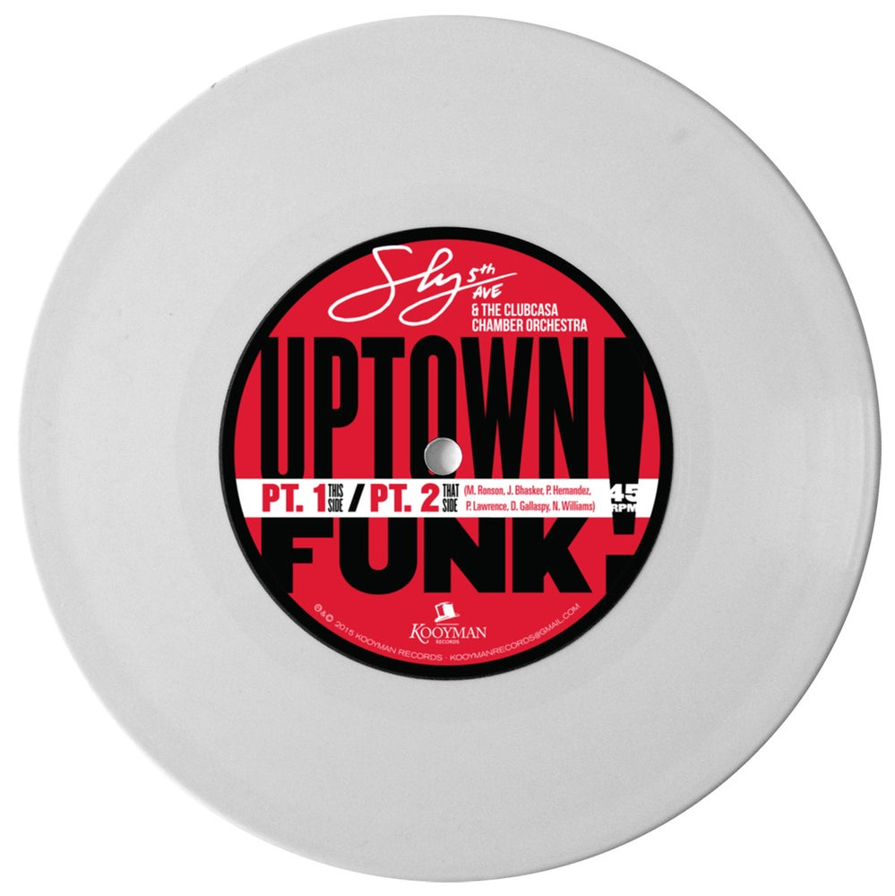 Image of SLY5THAVE & THE CLUBCASA CHAMBER ORCHESTRA-UPTOWN FUNK (PT.1/PT.2)