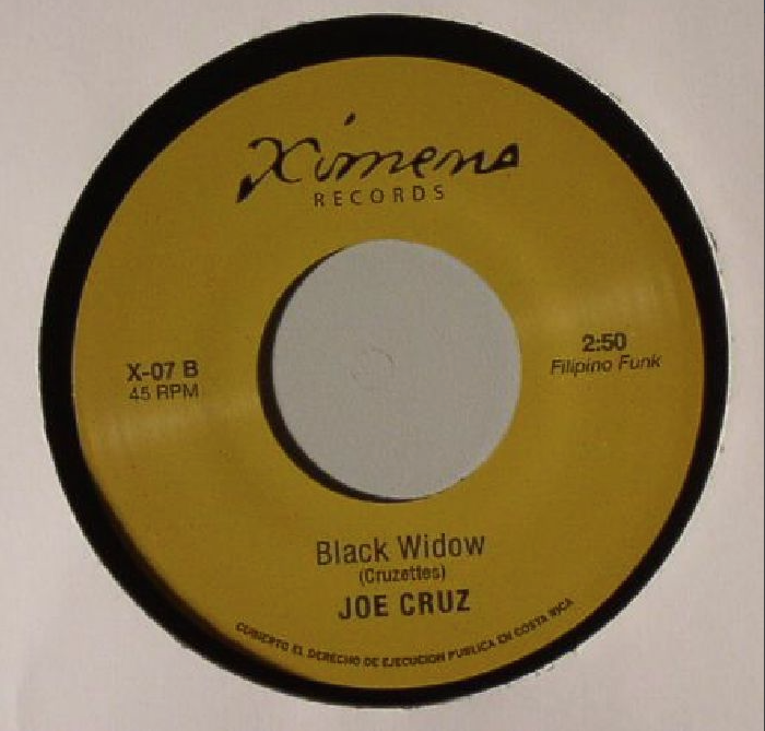Image of JENNIFER LARA-I'M IN LOVE/JOE CRUZ-BLACK WIDOW