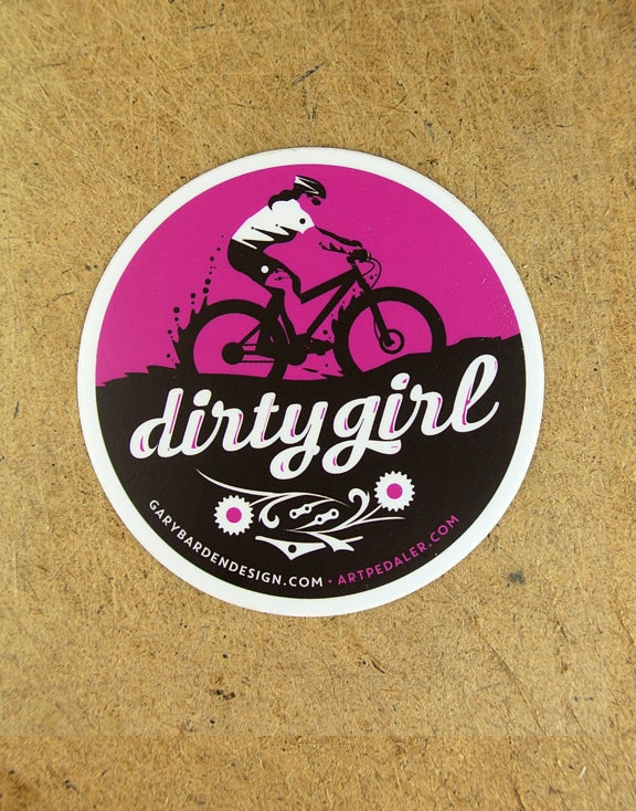 Image of Dirty Girl Sticker