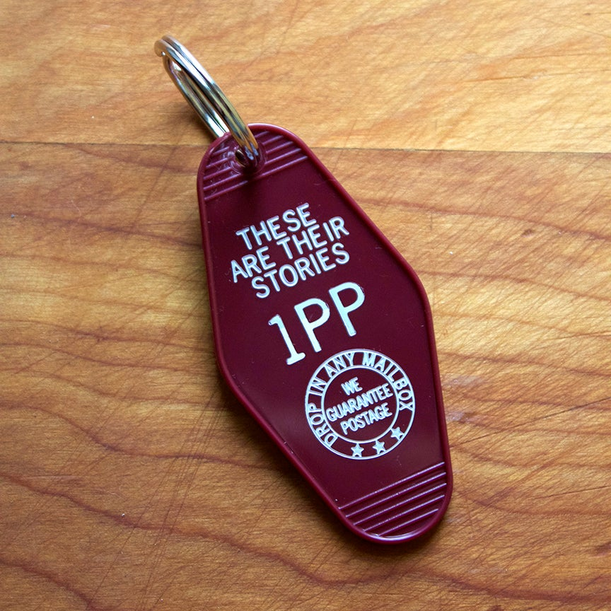 Image of Law and Order Old Timey Key Fob